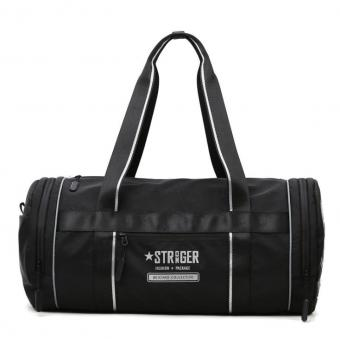 Water Resistant Round Yoga Sport Bag Shoes Compartment Unisex Travel Bag Wet Pocket Duffel Shoulder Weekend Bags - ORSTAR